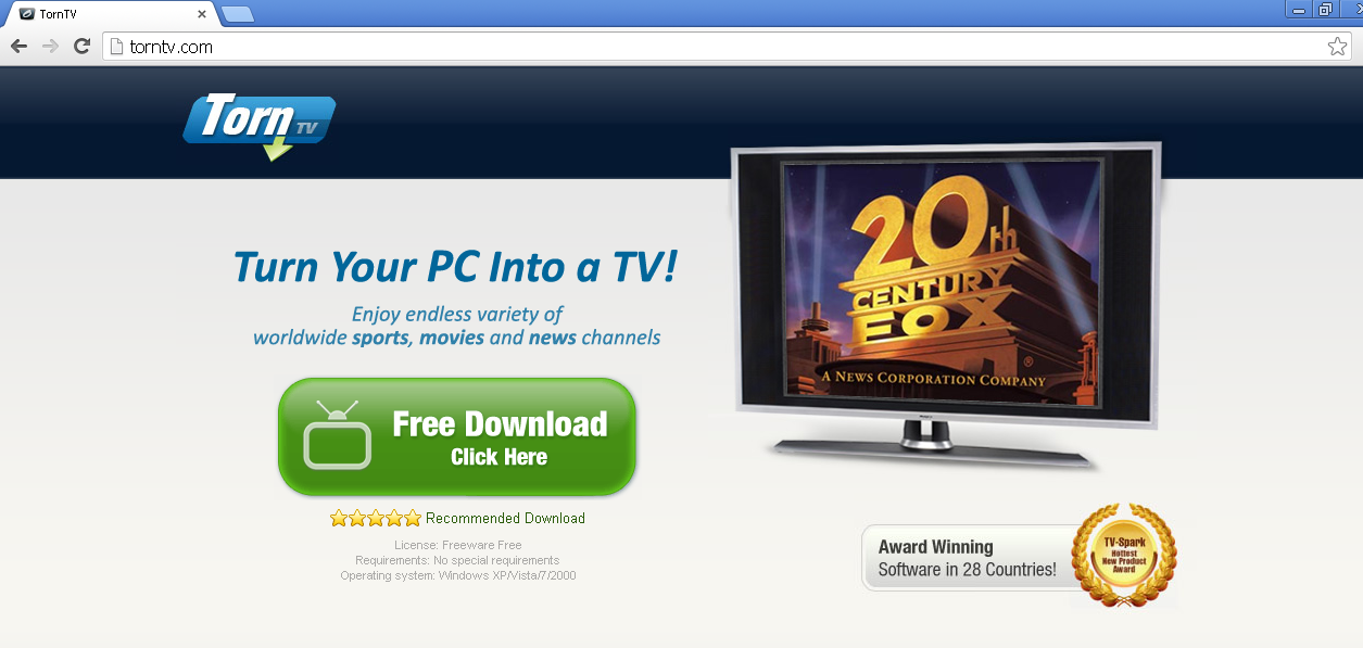 What Is TornTV? - How to, Technology and PC Security Forum