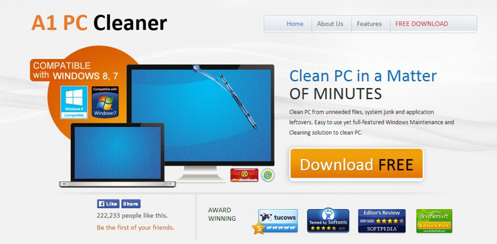 A1 PC Cleaner-remove
