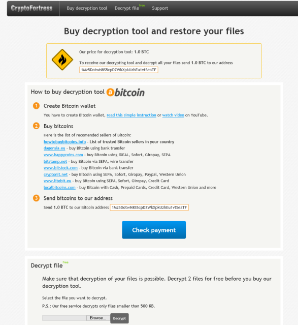 CryptoFortress_Ransomware
