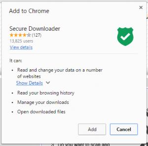 Secure-Downloader