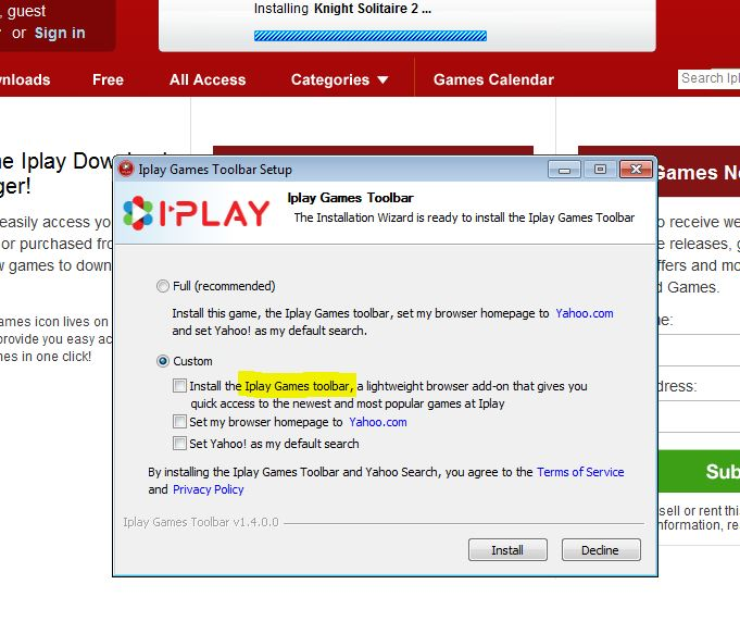 Iplay Toolbar