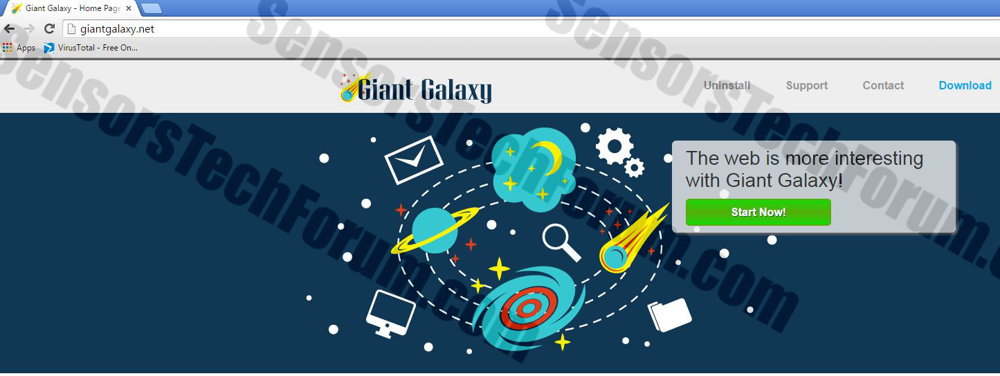 giant-galaxy-website