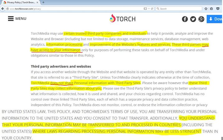 Torch Browser Removal Manual - How to, Technology and PC Security
