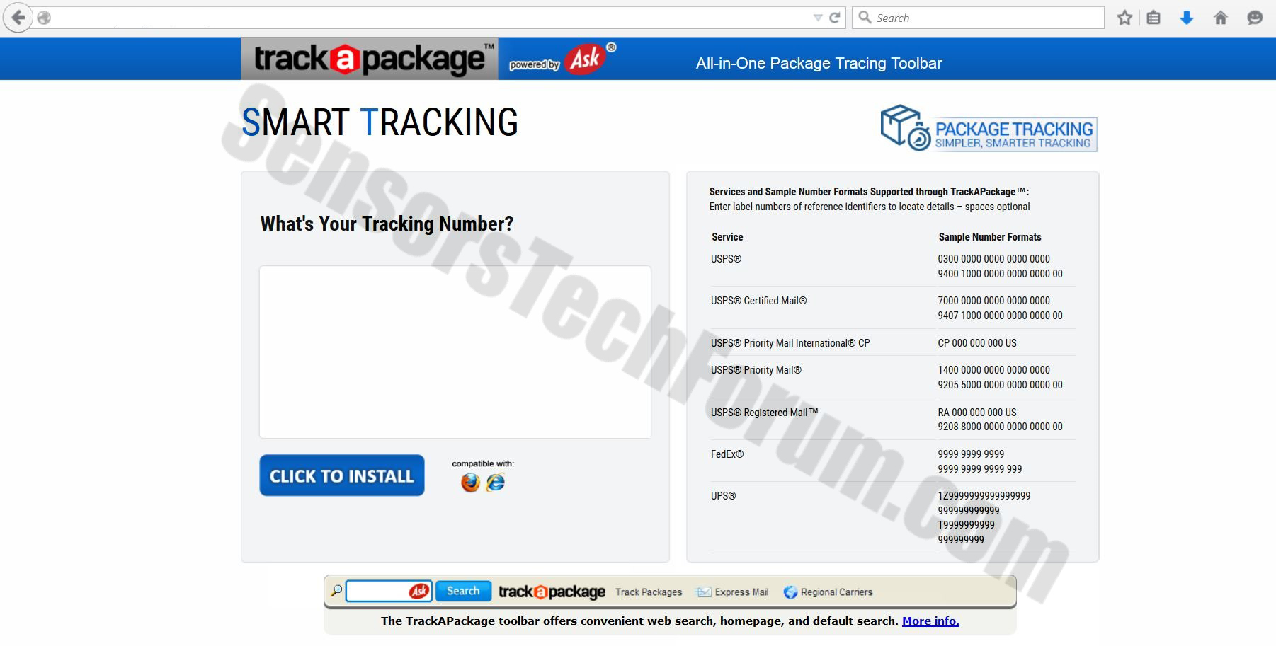 track-a-package-website