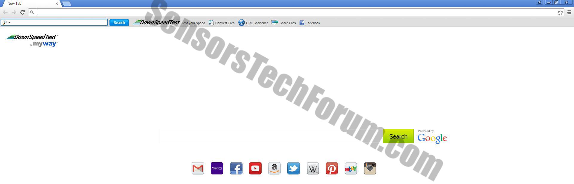 Downspeedtest-toolbar