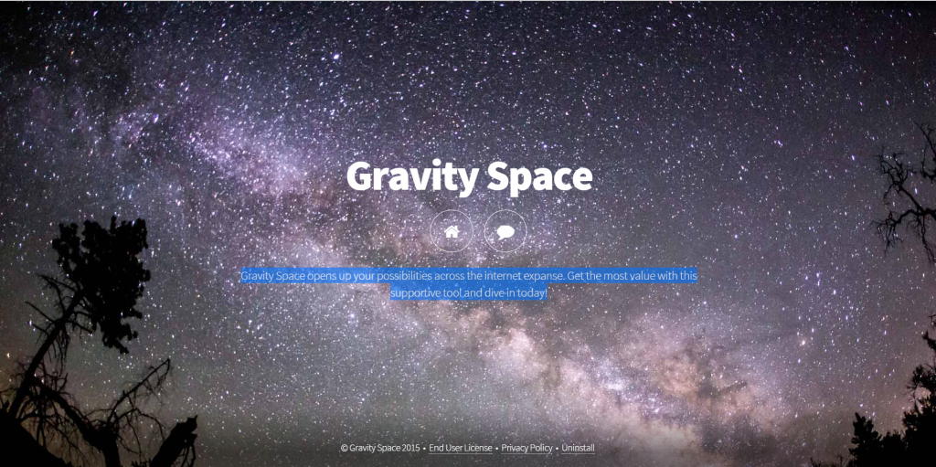 Gravity Space Advertenties