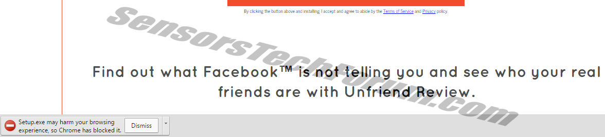 unfriend-review-google-chrome-warning