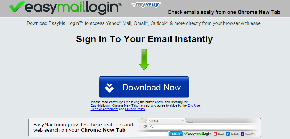 EasyMailLogin Toolbar