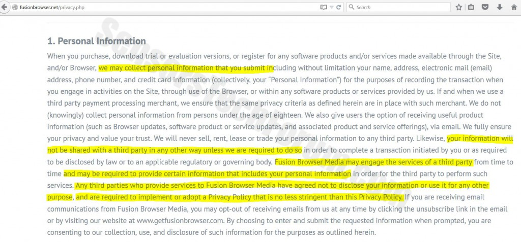 Fusion-browser-privacy-policy