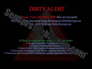 dirty-alert