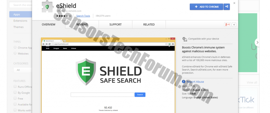 eshield-browser-extension