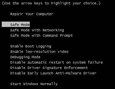 safe-mode-windows