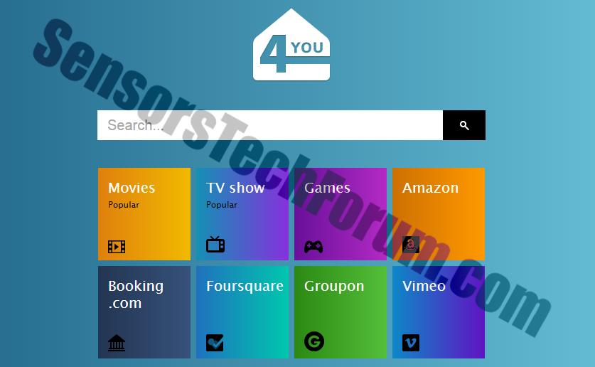 4-you-browser-hijacker-sensorstechforum