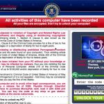 FBI Cyber Department Virus