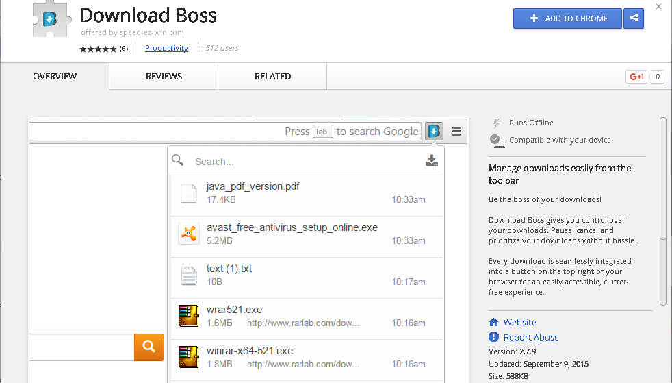 download-boss-sensorstechforum-removal