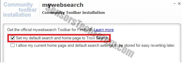 mywebsearch-trovi-homepage