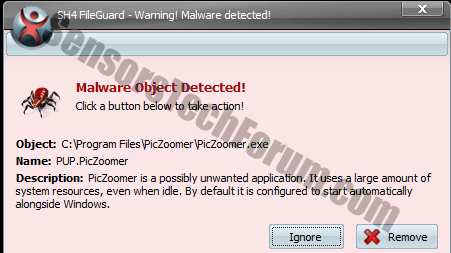 piczoomer-malware-object-detected