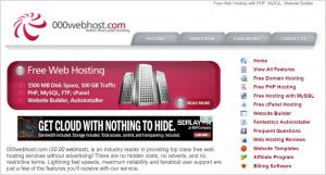 000webhost.com-page