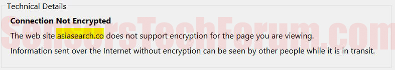 asiasearch-not-encrypted