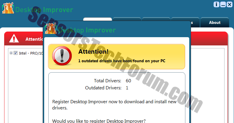 desktopimprover-pup-removal