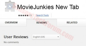 movie junkies new tab