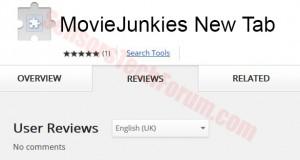 movie junkies new tab
