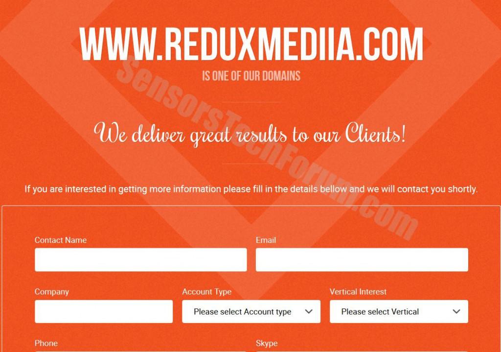 reduxmedia-web-site