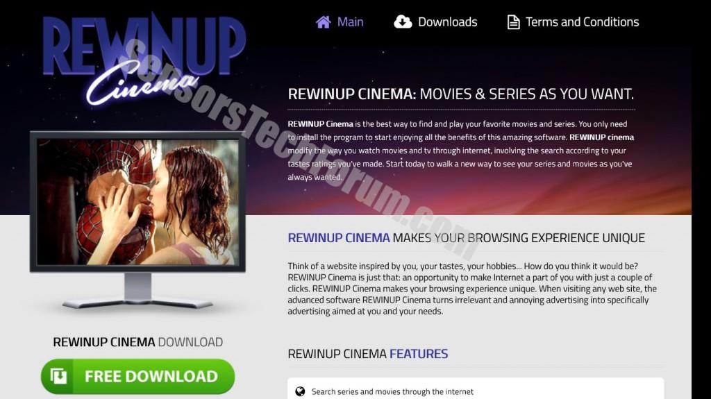 rewinup Kino-Website