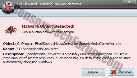 speedy-media-converter-malware-detected