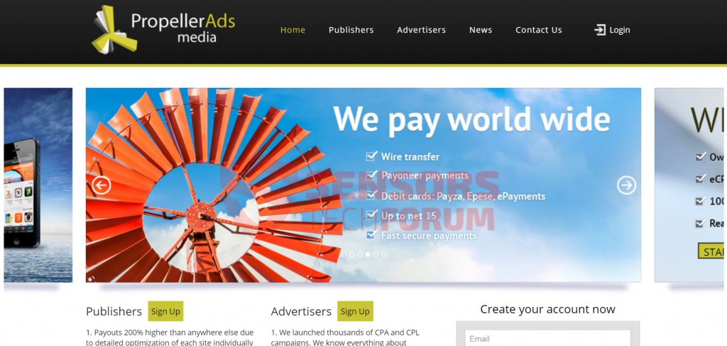 Propeller-ads-referral-spam