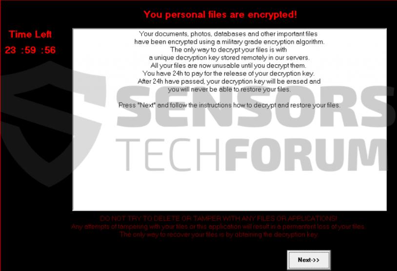 .cripta ransomware