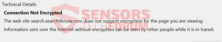 not-encrypted