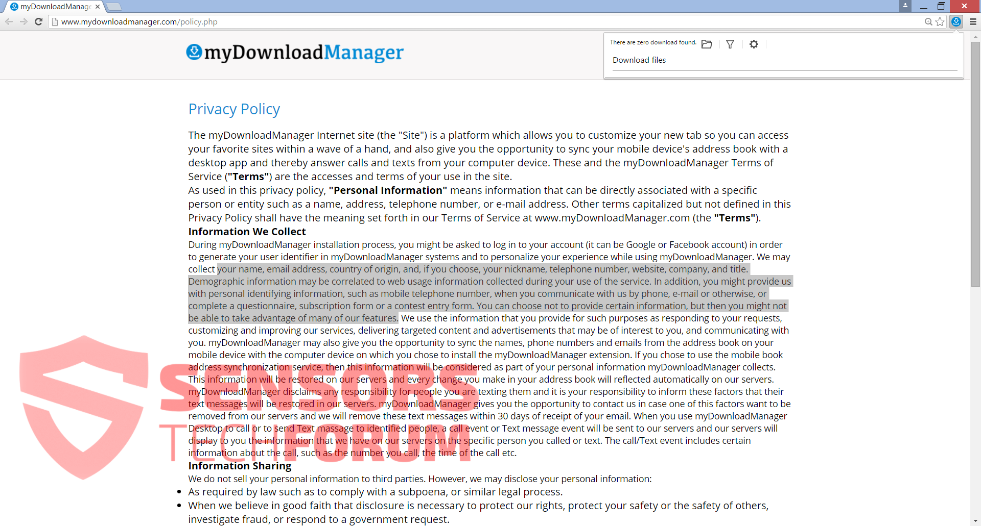 STF-myDownloadManager-my-download-manager-privacy-policy