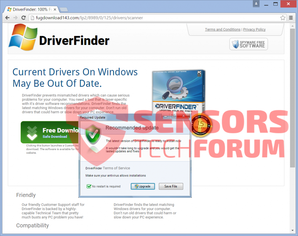 SensorsTechForum-fugdownload143.com-fugdownload-DriverFinder-updates-drivers