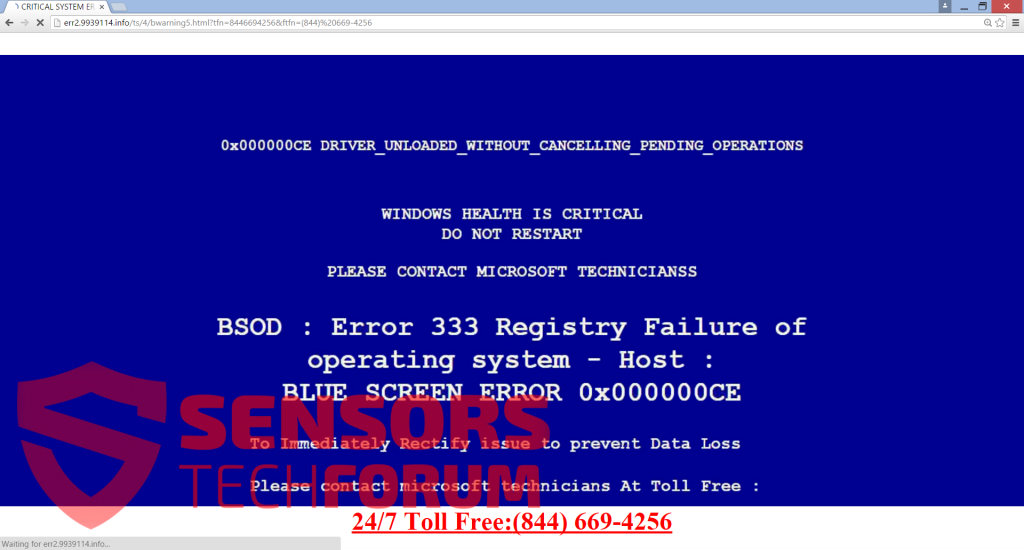 blue-err2.9939114.info-fake-tech-support-bsod-screen-of-death
