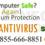 Screenshot of the instanthelpforantivirus(.)blogspot scamming site.