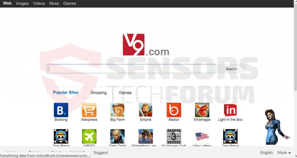 v9 browser hijacker