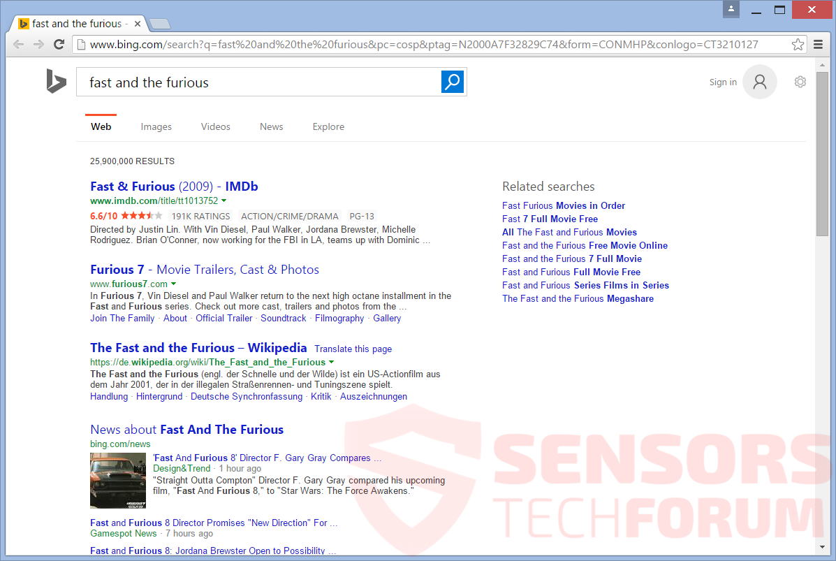 bing hijacked by browser safari autos post. Black Bedroom Furniture Sets. Home Design Ideas