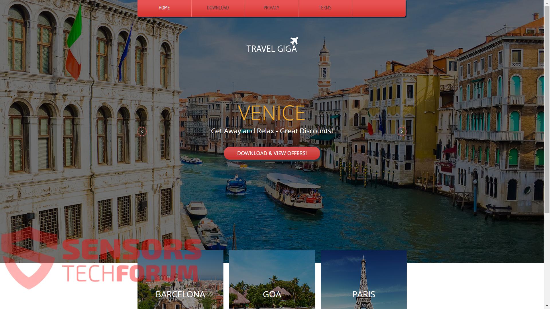 SensorsTechForum-travel-giga-official-site-main-page