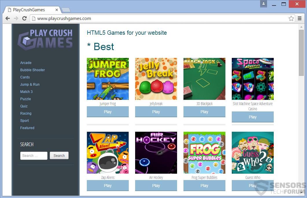 STF-playcrushgames-play-crush-games-main-page