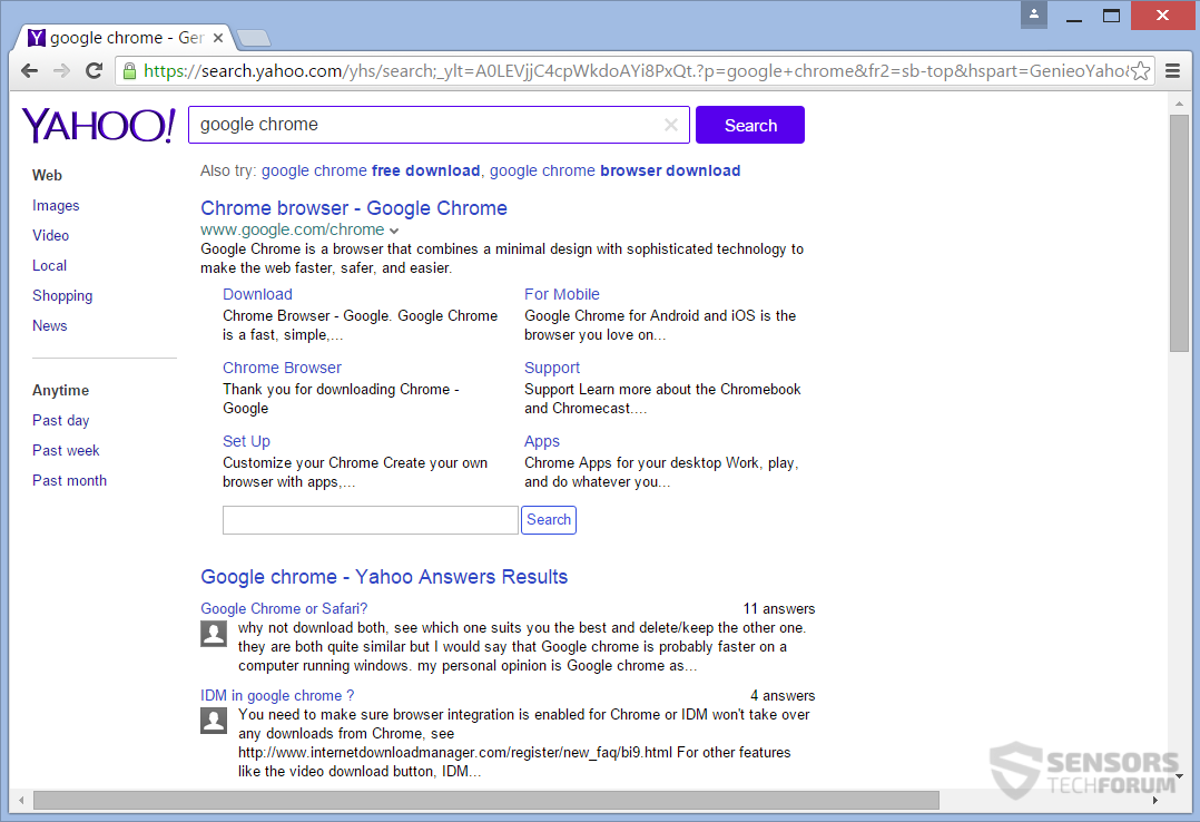 How To Clear Search History Yahoo Answers By Alexander Aaronsohn Multiple  Mailboxes_account View On Desktop  Sensorstechforumsearchtexidaycomsearchresults