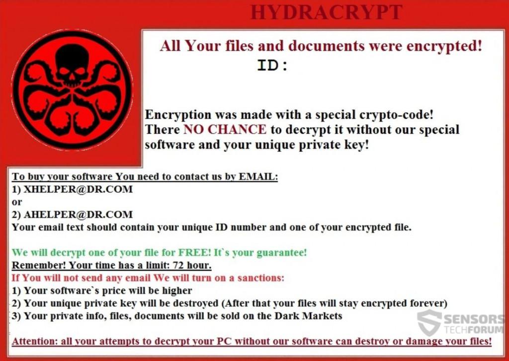 hydracrypt-ransomware-sensorstechforum