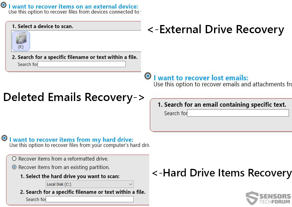 senosrstechforum-guided-recovery-data-recovery-options