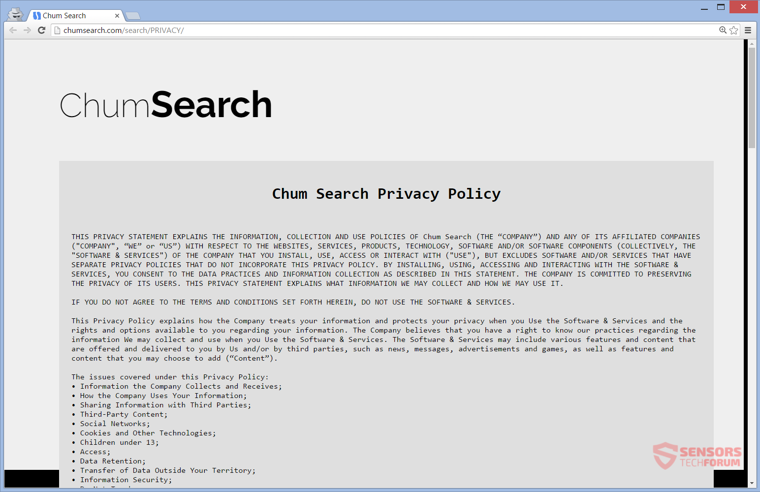 STF-chumsearch-com-search-index-chum-search-privacy-policy