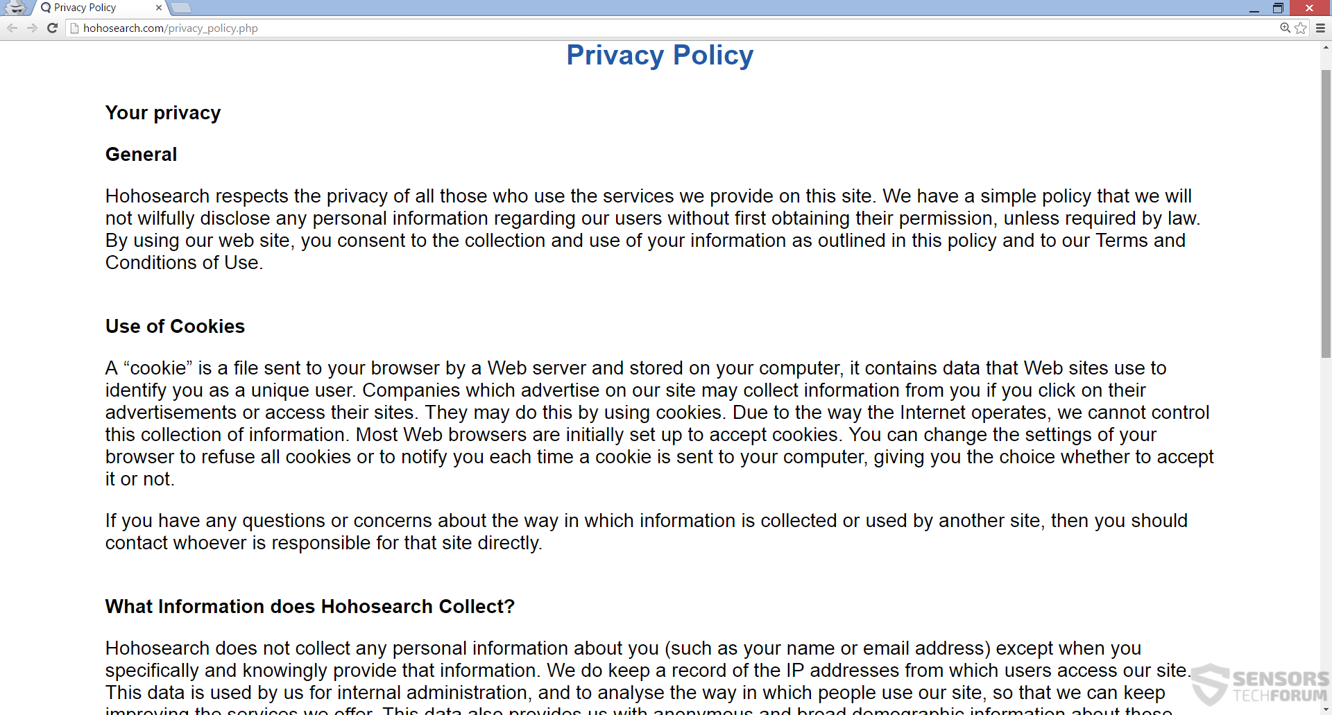 STF-hohosearch-com-hoho-ho-search-privacy-policy