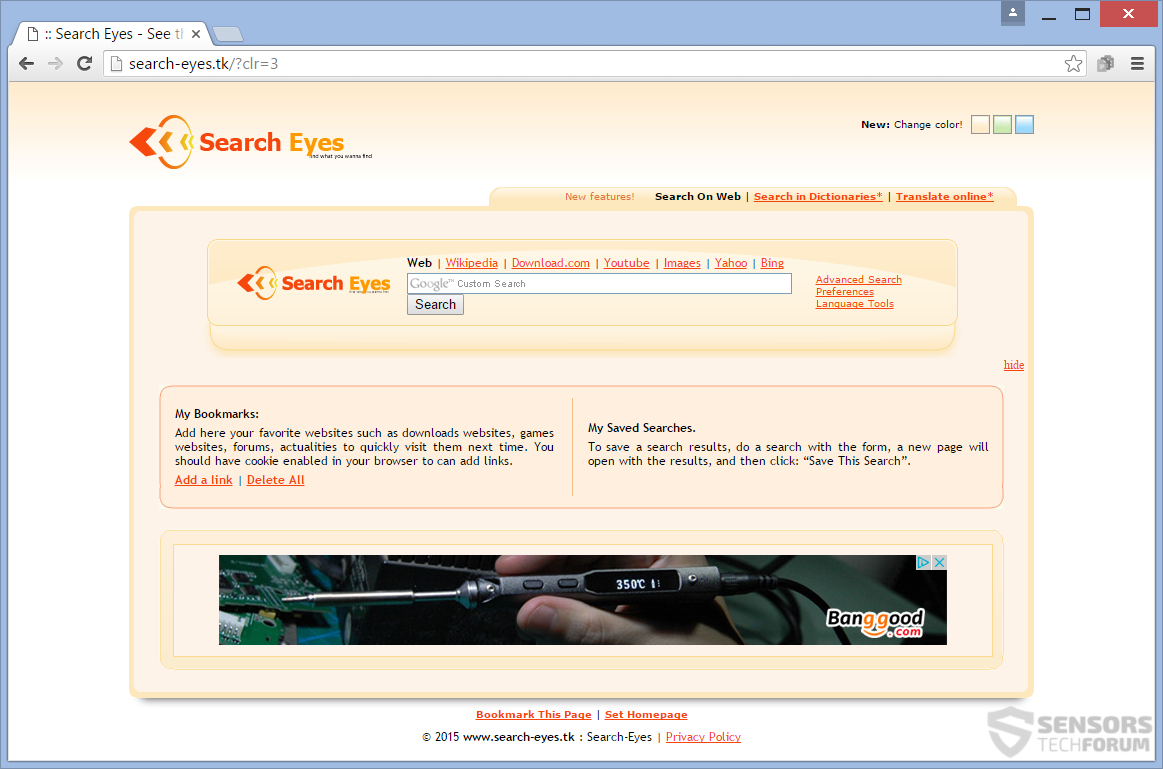 STF-search-eyes-tk-hijacker-ads-main-page