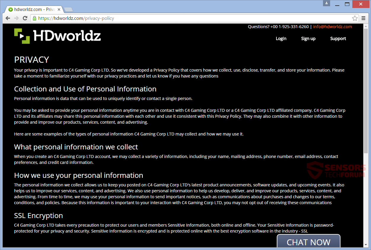 SensorsTechForum-hdworldz-com-hd-worldz-movies-games-music-privacy-policy