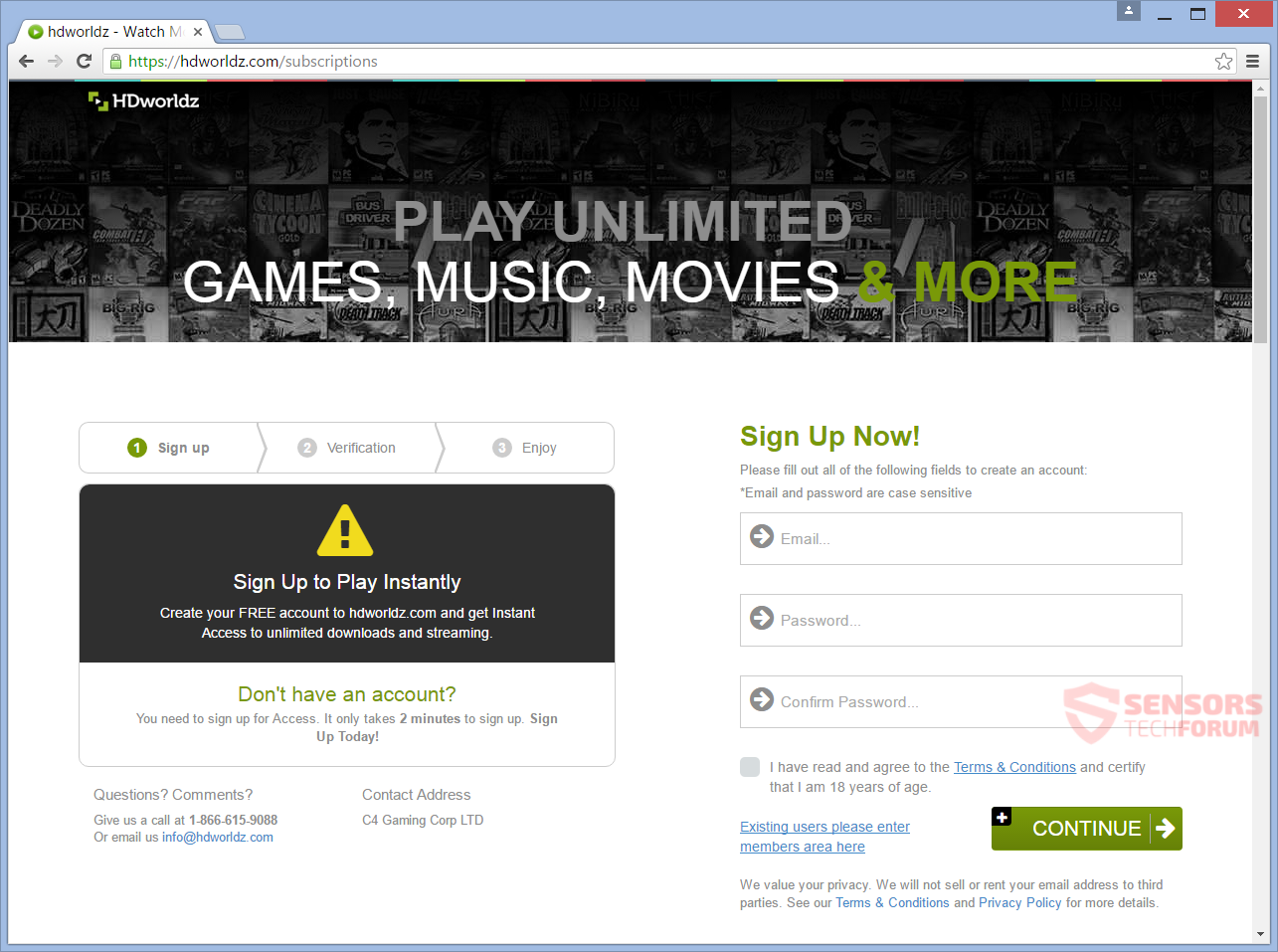 SensorsTechForum-hdworldz-com-hd-worldz-movies-games-music-registration