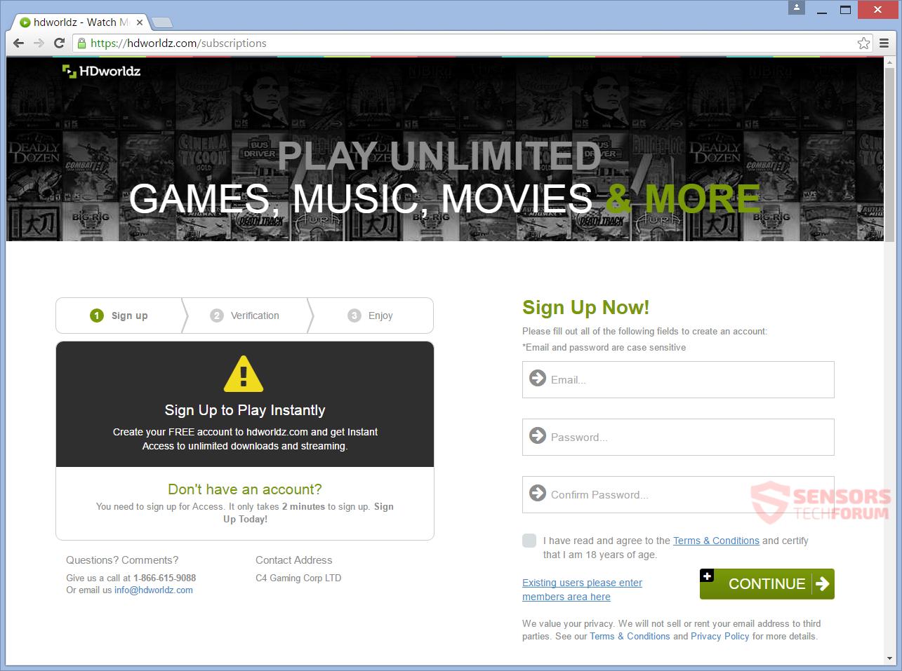 SensorsTechForum-hdworldz-com-hd-worldz-movies-games-music-registration