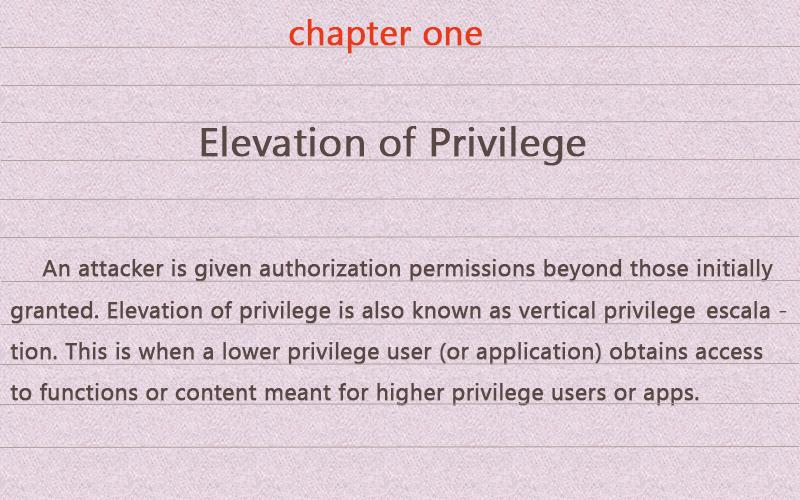 stforum da elevação de privilégio